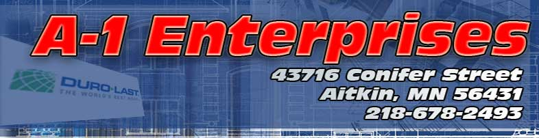 Welcome To A1 Enterprises Local Roofing Contractor Since